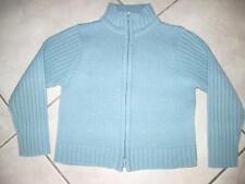 Veste La Redoute Bleue Taille 5 ans À Fermeture Éclair