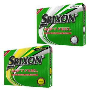 2020 Srixon Soft Feel Golf Balls 1 Dozen White NEW