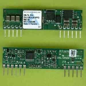 2× Delta DNL10S0A0R16PFD DC CONVERTER MODULE 12V (8.3~13.2V) TO 0.75~5V@16A SIP†