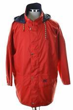 Helly Hansen Mens Windbreaker Jacket Large Red Nylon Polyurethane