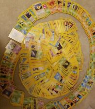 100 vintage Pokemon Card Lot WOTC mint to pack fresh cards!!!! - ABC