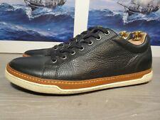 "Allen Edmonds ""PORTER DERBY"" Leather Sneakers  10.5 D Black"