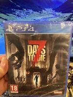 7 DAYS TO DIE PS4 PLAYSTATION 4 ZOMBIE HORROR NUOVO DI ZECCA SIGILLATO PAL TELLT