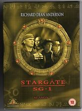 dvd Cofanetto STARGATE SG.1 Season Stagione 2 Versione inglese Contiene 6 Dischi