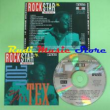 CD ROCKSTAR MUSIC 21 compilation PROMO 92 JOE TEX (C16) no mc lp dvd vhs