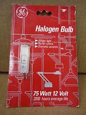GE Halogen Bulb 75W 12V Q75T4/CL/CD