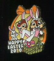 Easter 2010 Mini Pin Collection Chip and Dale Only LE Disney Pin 75481
