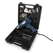 EBERTH Heißluftpistole Heißluftfön Heißluftgebläse Heißluft 2000 W Set Koffer