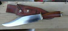 Vintage Collectable Randall Bowie Knife model 12-11 with Randall Leather Sheath