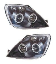 FORD FIESTA MK6 / 6.5 BLACK ANGEL EYE HEADLIGHTS