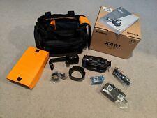 Canon XA10 Video Camera KIT Camcorder -  Black -bought NEW bag, camera, battery+