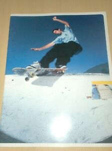 vintage skateboard catalog girl clocolate chopped cover 99 spr.  ....... W