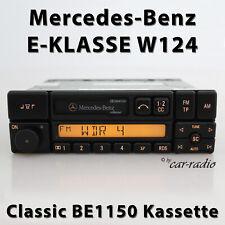 Original Mercedes W124 E-Klasse Classic BE1150 Autoradio Kassette Becker Radio
