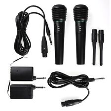 Handheld Wired Wireless Cordless Microphone Karaoke System All Singing Machine