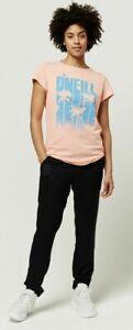 O'Neill graphic ladies short sleeve T shirt. Size 10, Bless peach. BNWT