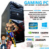ULTRA FAST Gaming PC Quad Core i5 16GB Windows 10 Desktop Computer Nvidea Gaming