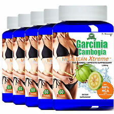 100% Pure Garcinia Cambogia Extract 1000mg 100% Weight Loss HCA Diet 60 Fat Burn