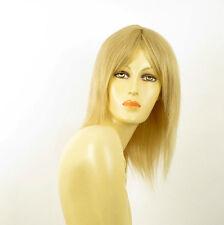 perruque femme 100% cheveux naturel longue blonde ref TATIANA  22