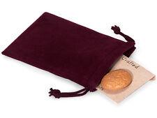50 Pcs WINE 3x4 Jewelry Pouches Velour Velvet Gift Bags
