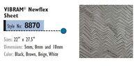 VIBRAM 8870 Newflex Rubber Soling Sheet - Shoe Repair 5 8 10mm