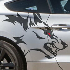 Dodge Wolf Side Coyote Ford Mustang Vehicle Graphic Decal Sticker Camaro Truck
