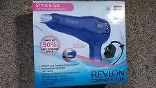 New Revlon Compact Styler. STYLE & GO. Handle Folds & Cord Retrieves