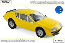 Renault Alpine A310 1977 Yellow  NOREV - NO 185143 - Echelle 1/18