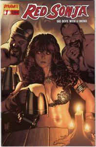 Red Sonja #7 VF/NM (2006) Adam Hughes Variant Cover Dynamite