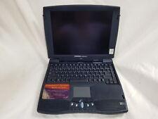 """NO VIDEO? Compaq Presario 1245 Vintage 12"""" Windows 98? Laptop Unknown Spec, No c"""