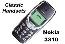 Dark Blue Nokia 3310 -Classic Handsets Retro Cellular Phone (Factory Unlocked!)