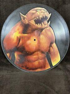 "Metallica ""Jump In The Fire"" Mega Rare Uncut Promo Picture Disc Vinyl/Record"