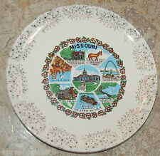 Collector Plate Missouri The Cave State Ozarks Gateway Arch Harry S. Truman 9""