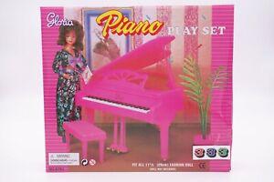 Gloria Piano Play Set (9701) doll furniture