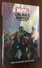 MARVEL CINEMATIC UNIVERSE Guidebook -- Avengers Initiative -- SEALED Hardcover