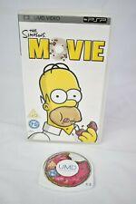 Sony PSP UMD Movie the Simpsons Movie