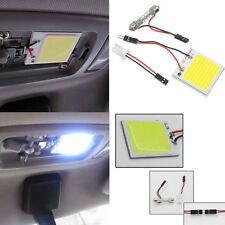 NEW White 48 SMD COB LED T10 4W 12V Car Interior Panel Light Dome Lamp Bulb @