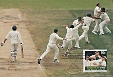 AUSTRALIA 2007 CRICKET ASHES WIN MAXIMUM CARDS WITH STAMPS  MINT
