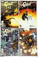 Groot #1,2,3,5 Lot Cover A's First Printings Marvel 2015 Baby Groot 1st App. NM