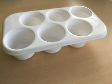 White Plastic Container Pot - Food Storage Art Crafts Painting DIY