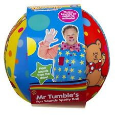 Mr Tumble Children's Sounds Soft Toy Ball - Spotty Ball with Fun Sound Effects