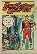"""RARE EO S.A.G.E 1950 FRISANO RÉCIT COMPLET CAPITAINE MARVEL """" CALOMNIE """" + GARTH"""