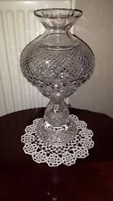 """WATERFORD CUT CRYSTAL TABLE LAMP 14"""" ~ 499.99P NO RESERVE"""