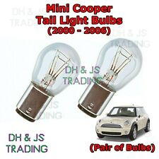 Mini Cooper Tail Light Bulbs Pair of Rear Tail Light Bulb Bulbs (00-06)