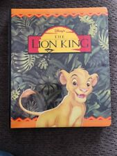 Disney The Lion King collector cards with binder 171 Cards Set