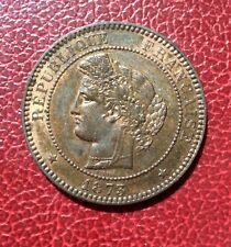 France - 3ème République - Très Jolie monnaie de 10 Centimes Cérès 1873 A