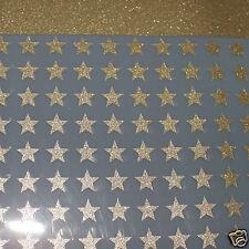 30 étoiles OR 1cmFlex thermocollant GLITTER OR