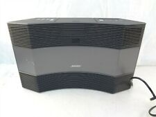 Bose Acoustic Wave Music System II Graphite Gray AM/FM CD Player Shelf Stereo