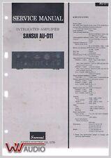 Sansui AU-D11 Amplifier Service Anleitung Service Manual