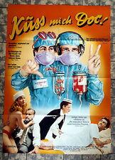 KÜSS MICH DOC! / Young Doctors in Love * A1-Filmposter #A-MOT - Ger 1-Sheet ´83