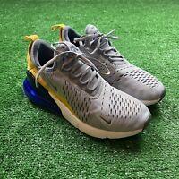 Nike Air Max 270 Wolf Grey/Cool Grey-Racer Blue Shoe's 943345-014 SZ 5Y